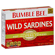 Bumble Bee Gourmet Brisling Wild Sardines Hot Jalapeno Peppers