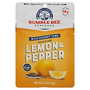 Bumble Bee Lemon & Pepper Seasoned Tuna Pouch