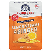 Bumble Bee Lemon Sesame Ginger Seasoned Tuna Pouch