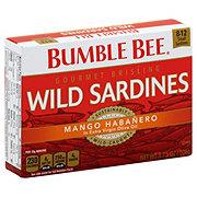 Bumble Bee Mango Habanero Gourmet Brisling Wild Sardines