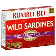 Bumble Bee Mediterranean Style Gourmet Brisling Wild Sardines