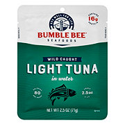Bumble Bee Premium Light Tuna In Water Pouch