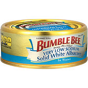 Bumble Bee Premium Very Low Sodium Chunk White Albacore Tuna In Water