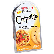 Bumble Bee Sensations Chipotle Seasoned Tuna with Crackers