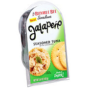Bumble Bee Sensations Jalapeno Seasoned Tuna with Crackers
