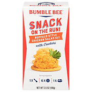 Bumble Bee Snack on the Run! Buffalo Style Chicken Salad Kit with Crackers