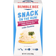 Bumble Bee Snack on the Run Rosemary Garlic & Sea Salt Tuna Salad