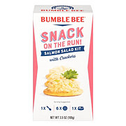 Bumble Bee Snack on the Run! Salmon Salad with Crackers