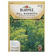 Burpee Dill Seeds, Mammoth