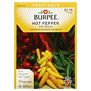 Burpee Hot Pepper Seeds, Hot Blend