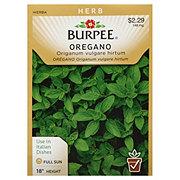 Burpee Oregano Seeds