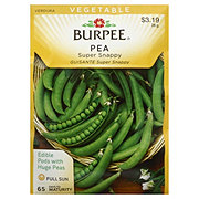 Burpee Pea Seeds, Sugar Snappy