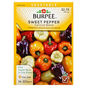 Burpee Sweet Pepper Seed, Carnival Blend