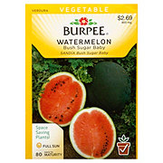 Burpee Watermelon seeds, Bush Sugar Baby