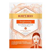 Burt's Bees Brightening Biocellulose Gel Face Mask
