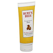 Burt's Bees Fragrance Free Shea Butter And Vitamin E Body Lotion
