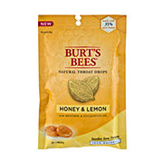 Burt's Bees Honey And Lemon Natural Throat Drops