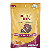 Burt's Bees Natural Honey & Pomegranate Throat Drops