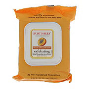 Burt's Bees Peach & Willow Bark Exfoliating Facial Towelettes