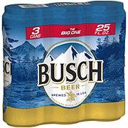 Busch Beer 25 oz Cans