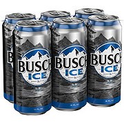 Busch Ice Beer 6 PK Cans