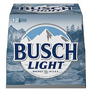 Busch Light Beer 12 oz Bottles