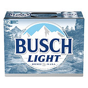 Busch Light Beer 12 oz Cans