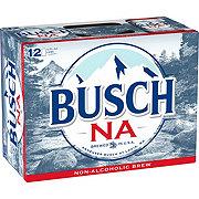 Busch Non-Alcoholic Beer 12 oz Cans
