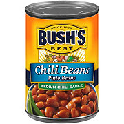 Bush's Best Chili Beans Pinto Beans Medium Chili Sauce