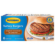 Butterball Everyday Turkey Burgers, Seasoned & Grill Ready