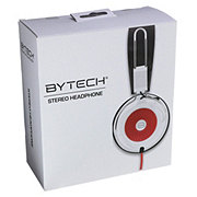 Bytech DJ Headset White, Red
