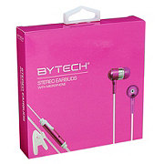 Bytech Headphones With Microphone - Pink