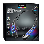 Bytech Lightup Sport Bluetooth Headset Black