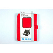 Bytech Universal 10 Inch Red Folio Tablet Case