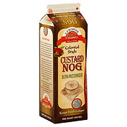 C.F. Burger Creamery Colonial Style Custard Nog