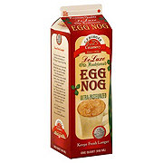C.F. Burger Creamery De Luxe Old Fashioned Egg Nog