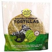 Cabo Chips Flour Tortillas Jalapeno Cilantro & Nopal