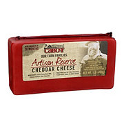 Cabot Artisan Reserve Cheddar Cheese