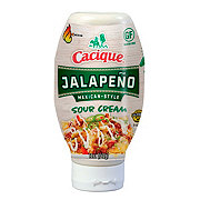 Cacique Spicy Jalapeno Sour Cream