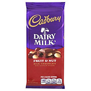 Cadbury Dairy Milk Fruit & Nut Milk Chocolate Bar