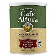 Cafe Altura Organic Fair Trade Dark Blend Ground Coffee