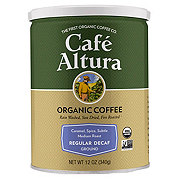 Cafe Altura Organic Regular Roast Decaf Ground Coffee