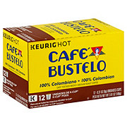 Cafe Bustelo Colombian Medium Roast Single Serve Coffee K Cups