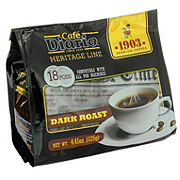 Cafe Diario Heritage Line Dark Roast Single Serve Coffee Pods