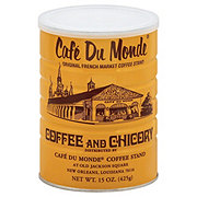 Cafe Du Monde Coffee and Chicory Dark Roast Ground Coffee