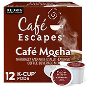 Cafe Escapes Cafe Mocha Single Serve Coffee K Cups