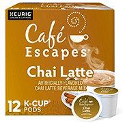 Cafe Escapes Chai Latte Single Serve Coffee K-Cups