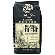 Cafe Ole by H-E-B Breakfast Blend Medium Roast Whole Bean Coffee