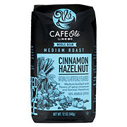 Cafe Ole by H-E-B Cinnamon Hazelnut Medium Roast Whole Bean Coffee