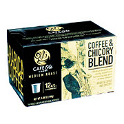 Cafe Ole by H-E-B Coffee & Chicory Blend Medium Roast Single Serve Coffee Cups